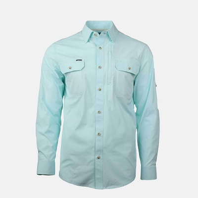 Lightweight Fishing Shirt Teal