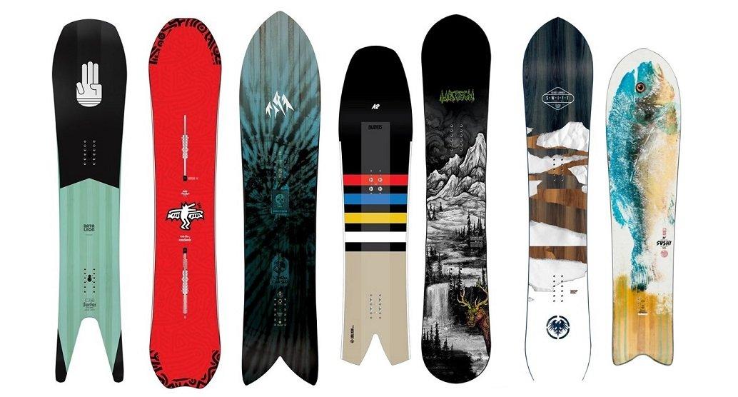 Top 7 Powder Snowboards 2020