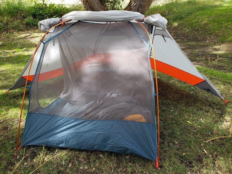 Tent Rain Fly Open