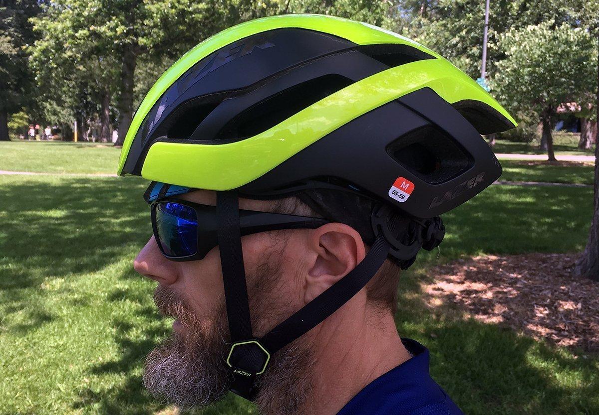 Bike Helmet and Sunglasses