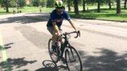 Riding bikes in Denver, Colorado