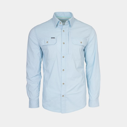 Poncho Outdoors Fishing Shirt Long Sleeve