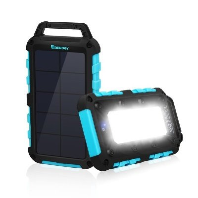Portable Charger with Flashlight