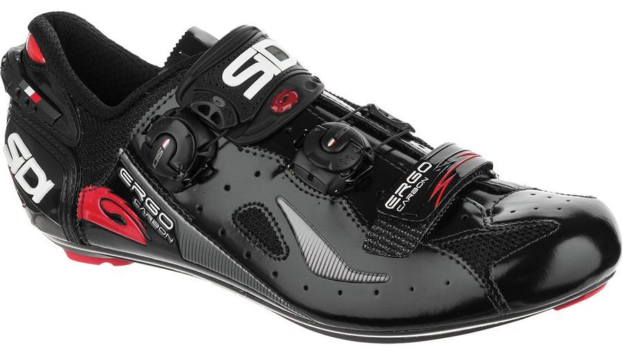sidi ergo 4 road cycling shoe in black