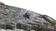Rock Climbing near Jackson Hole Wyoming