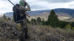 Hunting in the Tetons