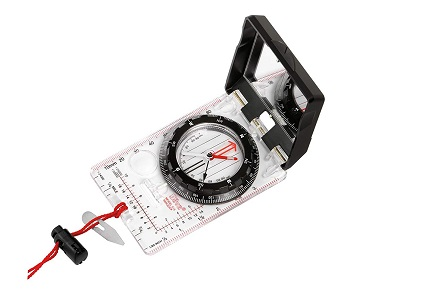 Compass and Slope Angle Reader for Splitboard Gear
