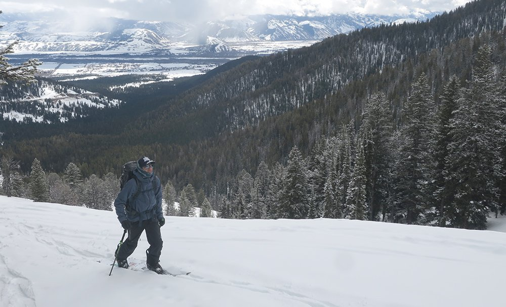 Splitboarding Teton Pass Wyoming
