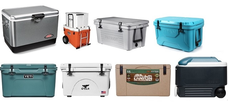 Best Coolers for Camping, Fishing and Hunting
