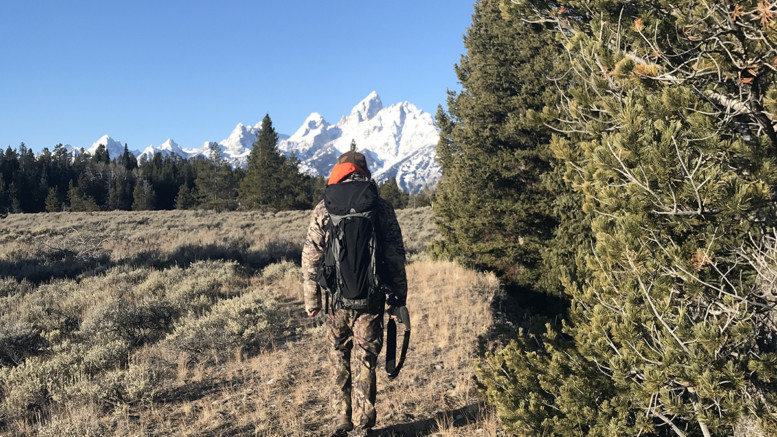 Grand Teton National Park Elk Hunt