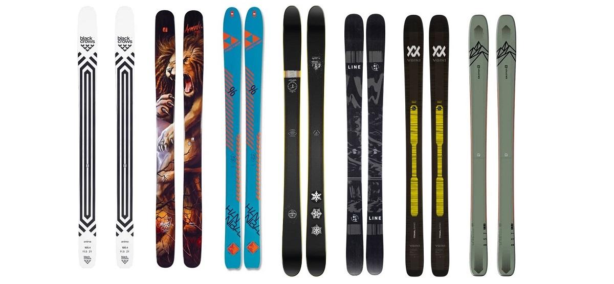 Top 7 Powder Skis of 2021