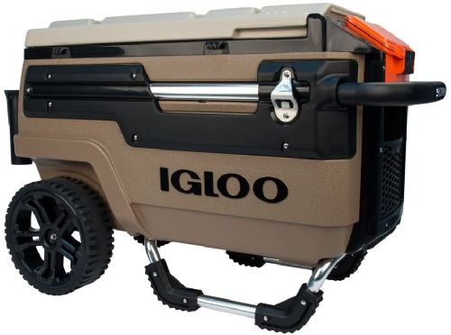 Camo Cooler from Igloo on Wheels