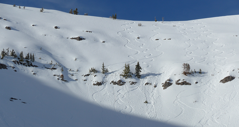 Is it a Safe Line to Ski?