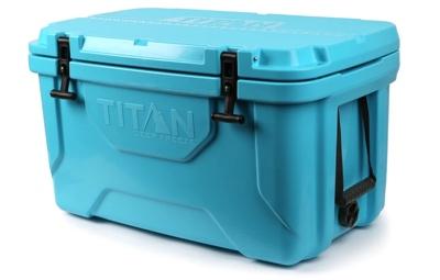 Arctic Zone Titan 55-quart blue cooler