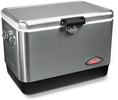 Coleman stainless steel 54-quart cooler