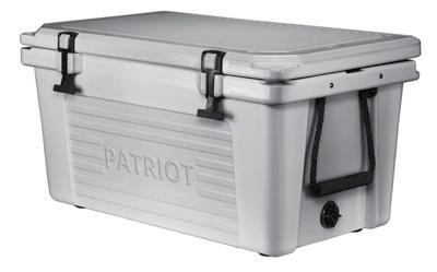 Patriot 50-quarter gray cooler