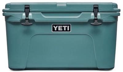 Yeti Tundra 45-quart green cooler