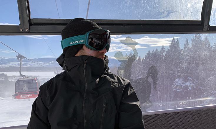 Riding Gondola Jackson Hole Mountain Resort
