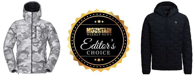 Mens Down Jacket Editor's Choice Award Winners