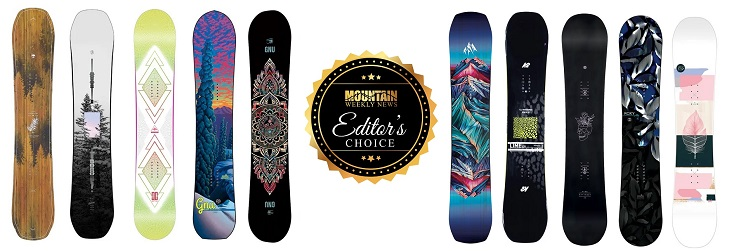Top 10 Women's Snowboards for 2021