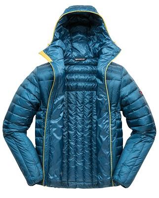 Blue Down Jacket for Men