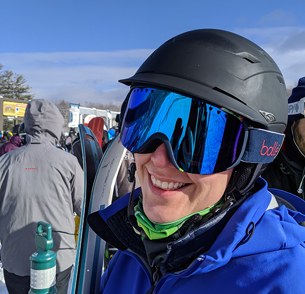 Women with Ski Goggles