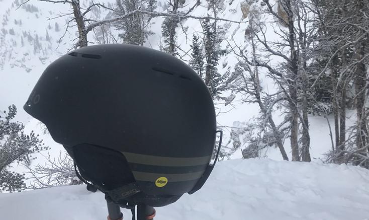 Ski Helmet with Ventillation