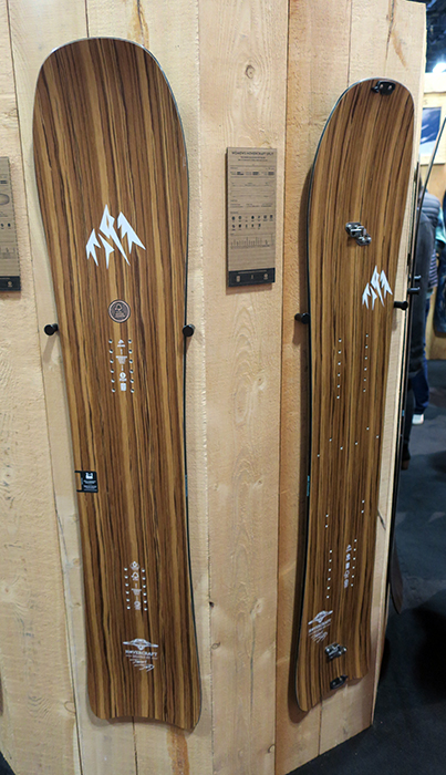 Jones Wood Snowboards