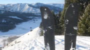 Splitboarding Wyoming