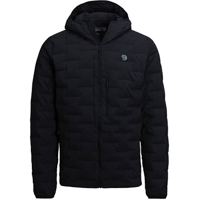 Mens Black Down Jacket - Mountain Hardwear Puffy