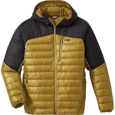 Mens Yellow Down Jacket