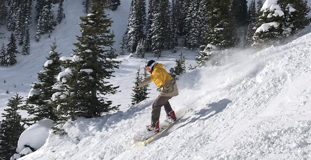 Jackson Hole Snowboarder