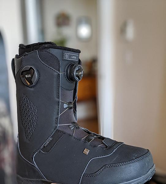 Ride Snowboards 2020 Mens Lasso BOA Snowboard Boots Black, 9.5