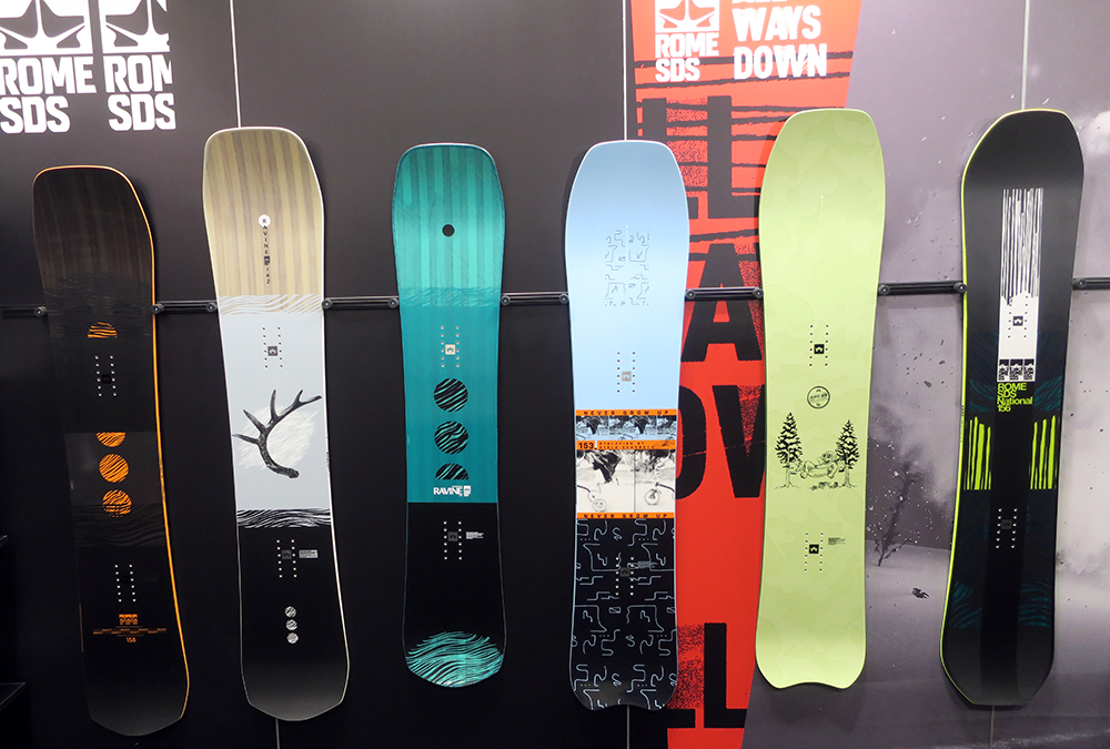 2021 Rome Snowboards