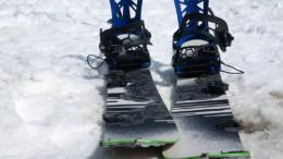 Slash Snowboards Splitboard on Snow
