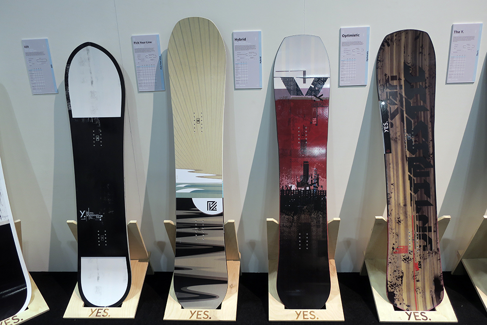 2021 Yes Snowboards