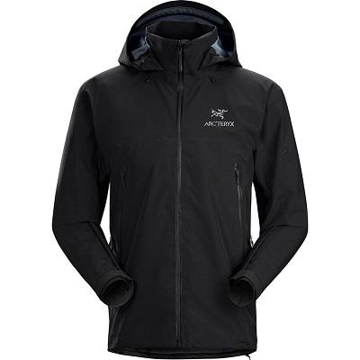 Mens Black Snowboard Jacket Arc'teryx Beta AR Jacket