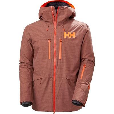 Mens Burnt Orange Snowboard Jacket