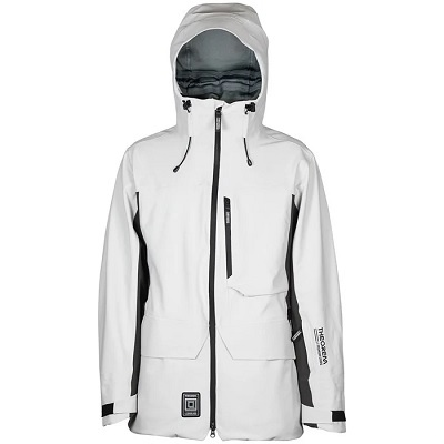 L1 White Snowboard Jacket for Men