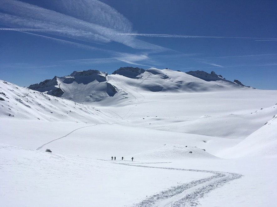 Ski Touring in Alps