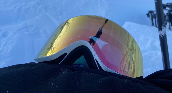 Pink SunGod Goggles Lens