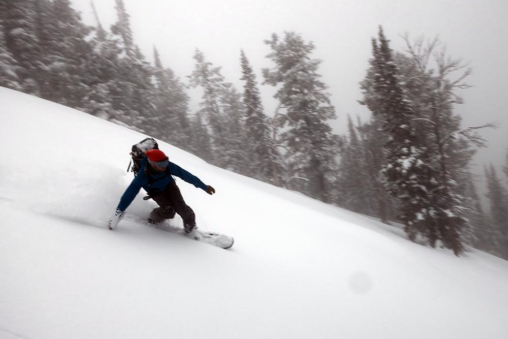 snowboarder Mike Hardaker