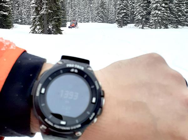 Casio Altimeter Watch