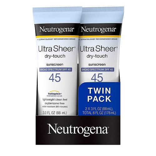 Sunscreen for Running - Nutrogena
