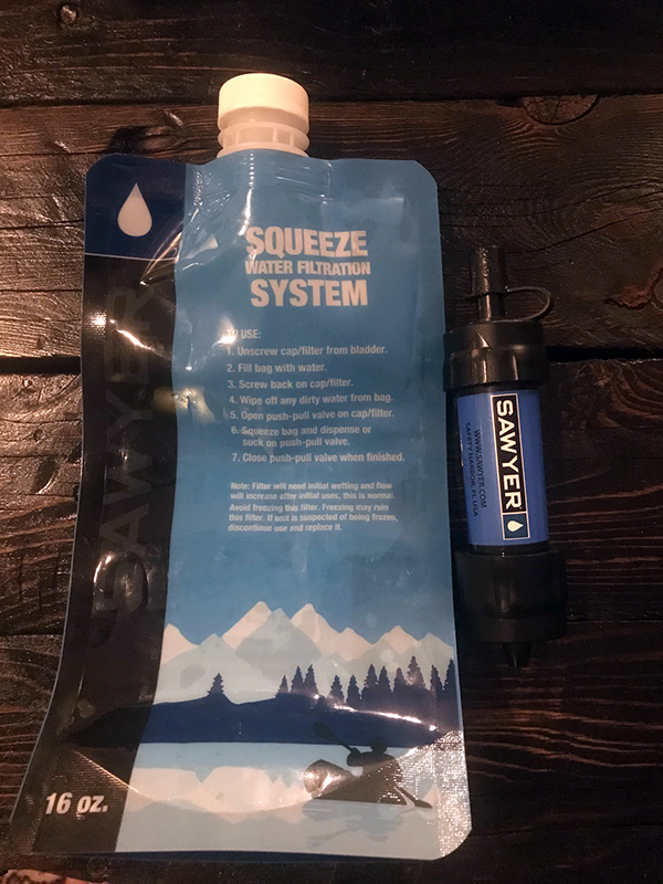 Sawyer Squeeze Water Filter System