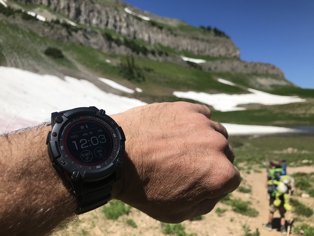 Watch with Elevation