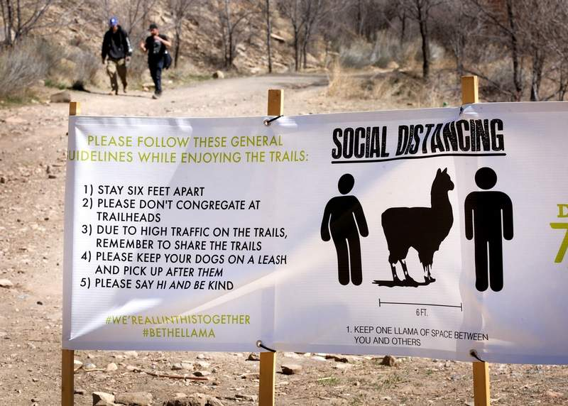 Social Distancing in the Outdoors