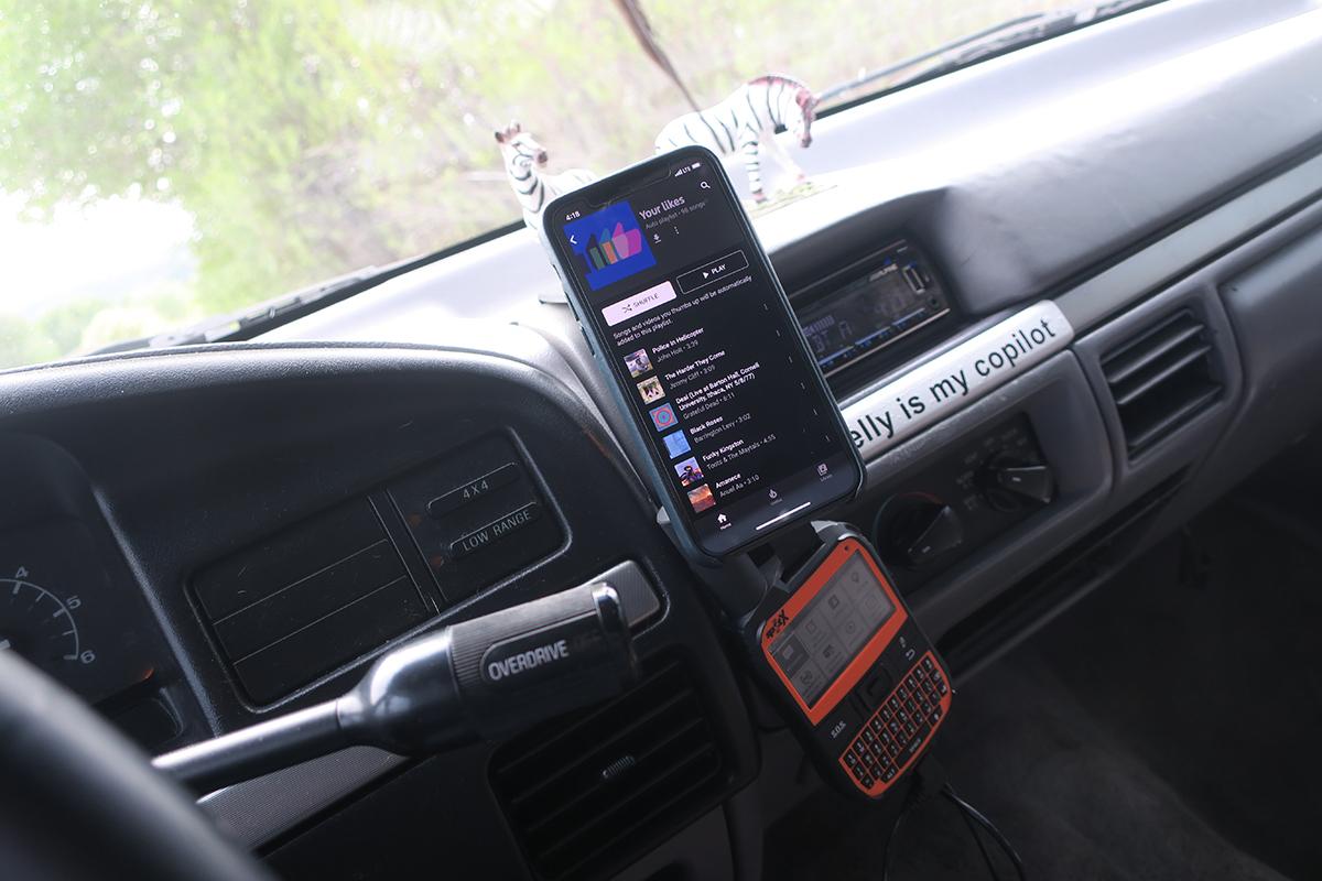 Spot X in Car
