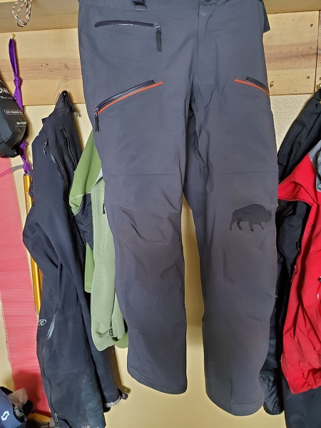 Ski Pants with Patch