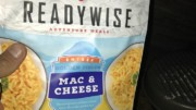 Backpacking Mac and Cheese